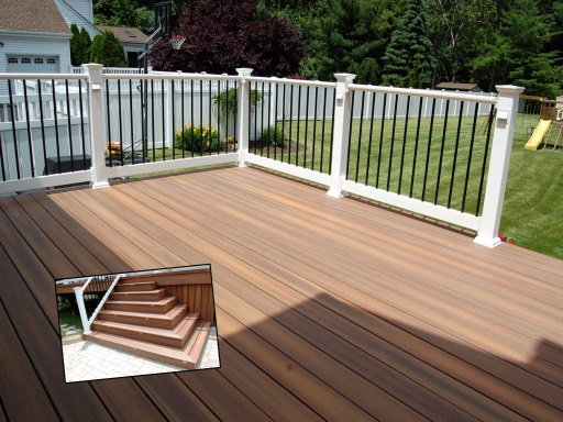 Photo of deck